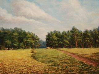 """""""Русское поле"""", 60х80 см, 2006 г."""