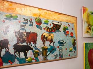 Развеска выставки