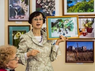 И. Шейхина рассказывает о своих работах