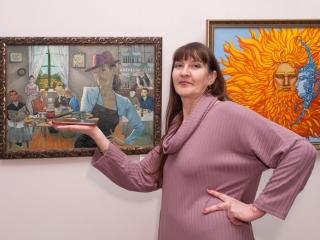 """Светлана Кузина и её работа """"Воспоминание о Ван Гоге"""""""
