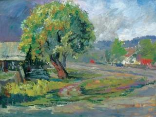 """""""ЦАРЕВЩИНА"""",2007. Оргалит, х., м., 70х52 см"""