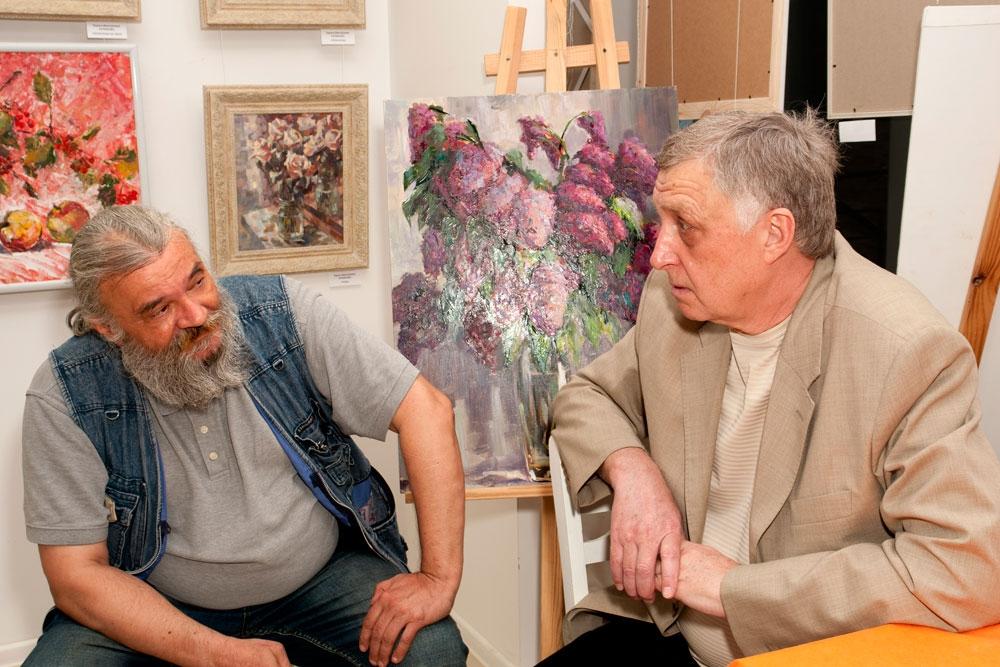 Юлий Колесник и Владимир Гавердовский