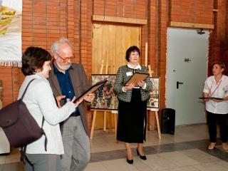 Диплом ТСХР (Москва) вручается Елене Латашевой