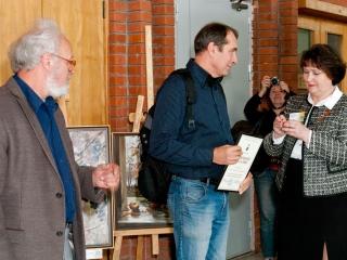 Бронзовая медаль ТСХР (Москва) вручается Александру Авдюшкину