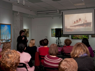 Лекция Елены Анатольевны Малыгиной «Читать язык искусства» посвящена стилю ар-деко.
