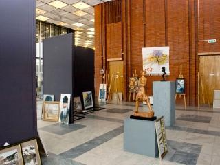 Создание первоначальной экспозиции