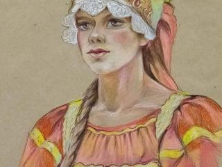 Работа Людмилы Логиновой