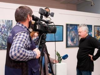 Интервью с участником выставки Дмитрием Мнацаканьяном