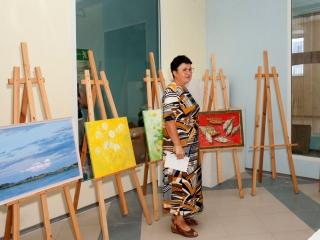 На рассмотрении выставкома работы Людмилы Струнилиной