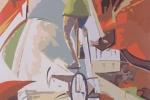 Фрагмент росписи в Ярославском цирке