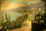 «Ялта», настенная роспись в кафе «Дружба народов»