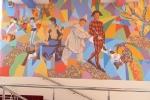 Настенная роспись в Ярославском цирке