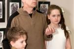 Игорь Степанов с сыном и дочкой