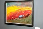 Цыганский табор, холст на картоне, масло, 2006