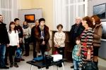 Выставку открывает Наталья Филиппова