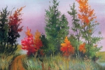 Опушка осеннего леса