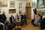 Открытие персональной выставки В.К. Александрова в селе Борское (10.04.2006 г.)