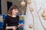 Выставку открывает Мария Юрьевна Гаврилова