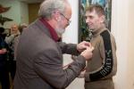 Награждение Бронзовой медалью ТСХР Игоря Степанова