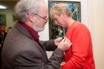 Награждение Бронзовой медалью ТСХР Сергея Ключникова