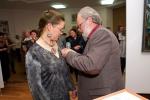 Награждение Серебряной медалью ТСХР Елены Колесник