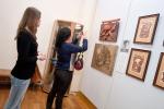 Зрители выставки