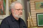 Олег Николаевич Емельянов открывает выставку