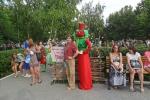 Е.Н. Макеева на празднике «Сызранский помидор»