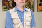Анатолий Стегалин выступает на открытии выставки