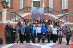 Групповое фото участников триеннале на память