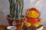 "\""Солнышко\"", холст, масло, 45х35 см, 2010"