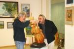 Два скульптора - Владимир Рассказов и Степан Карслян