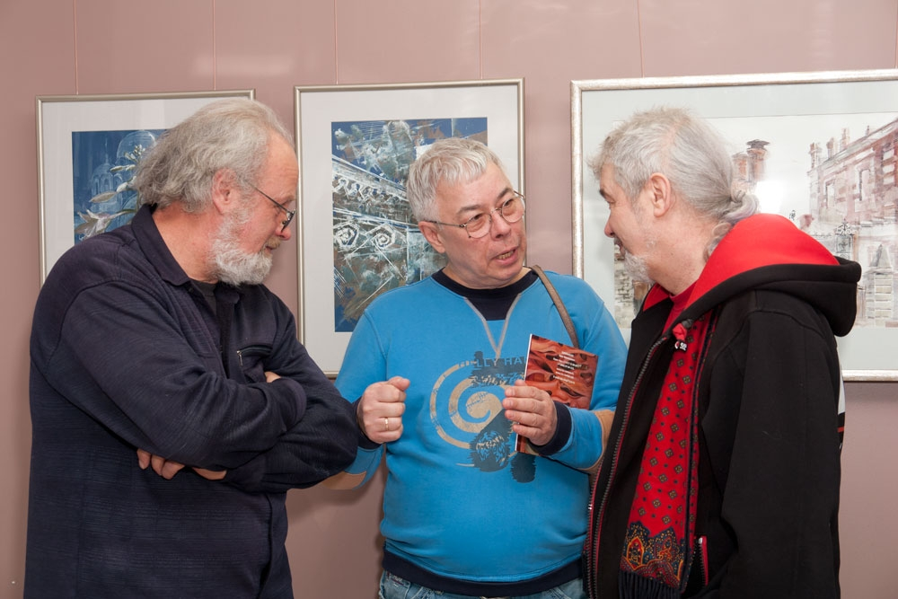 После открытия выставки
